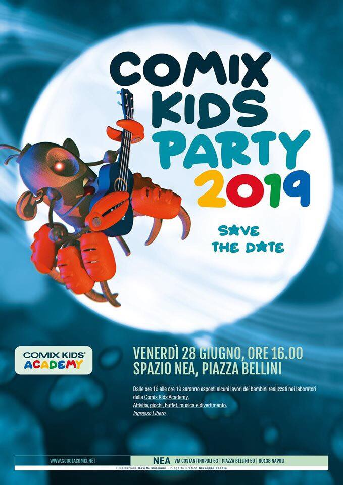 comix kids party