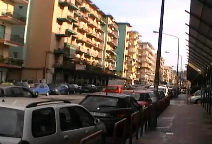 Allagamento di un palazzo a Napoli