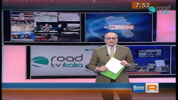 RoadTV Italia a Buongiorno Regione su Rai 3