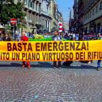 Voci dalla Manifestazione. Cittadini Campani per un piano alternativo dei rifiuti.