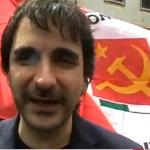 La federazione della sinistra in piazza con De Magistris