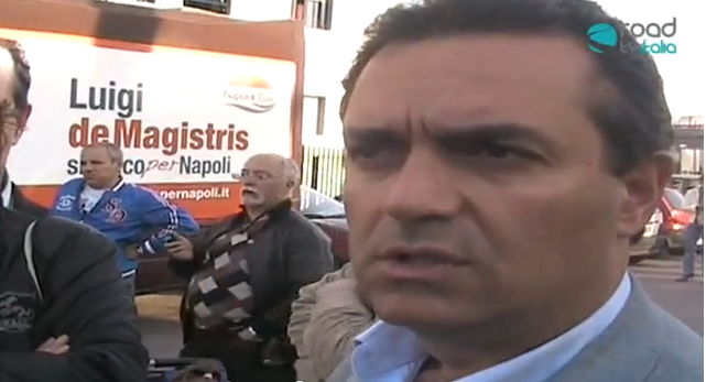Luigi de Magistris:''Ecco chi mi appoggia'' e scusate se é poco