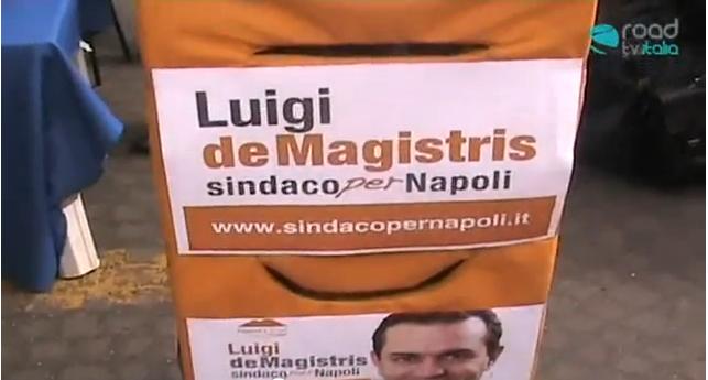 Interviste sostenitori di de Magistris