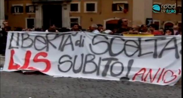 Lis o Lmg? Manifestazione finale a Montecitorio