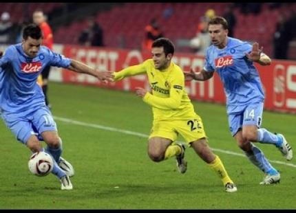 Champions Napoli contro Villareal al San Paolo