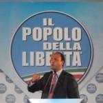 Manifestazione PDL a Napoli con Angelino Alfano