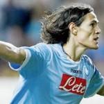 Napoli-Lecce 4-2: Lavezzi fenomenale e doppietta di Cavani