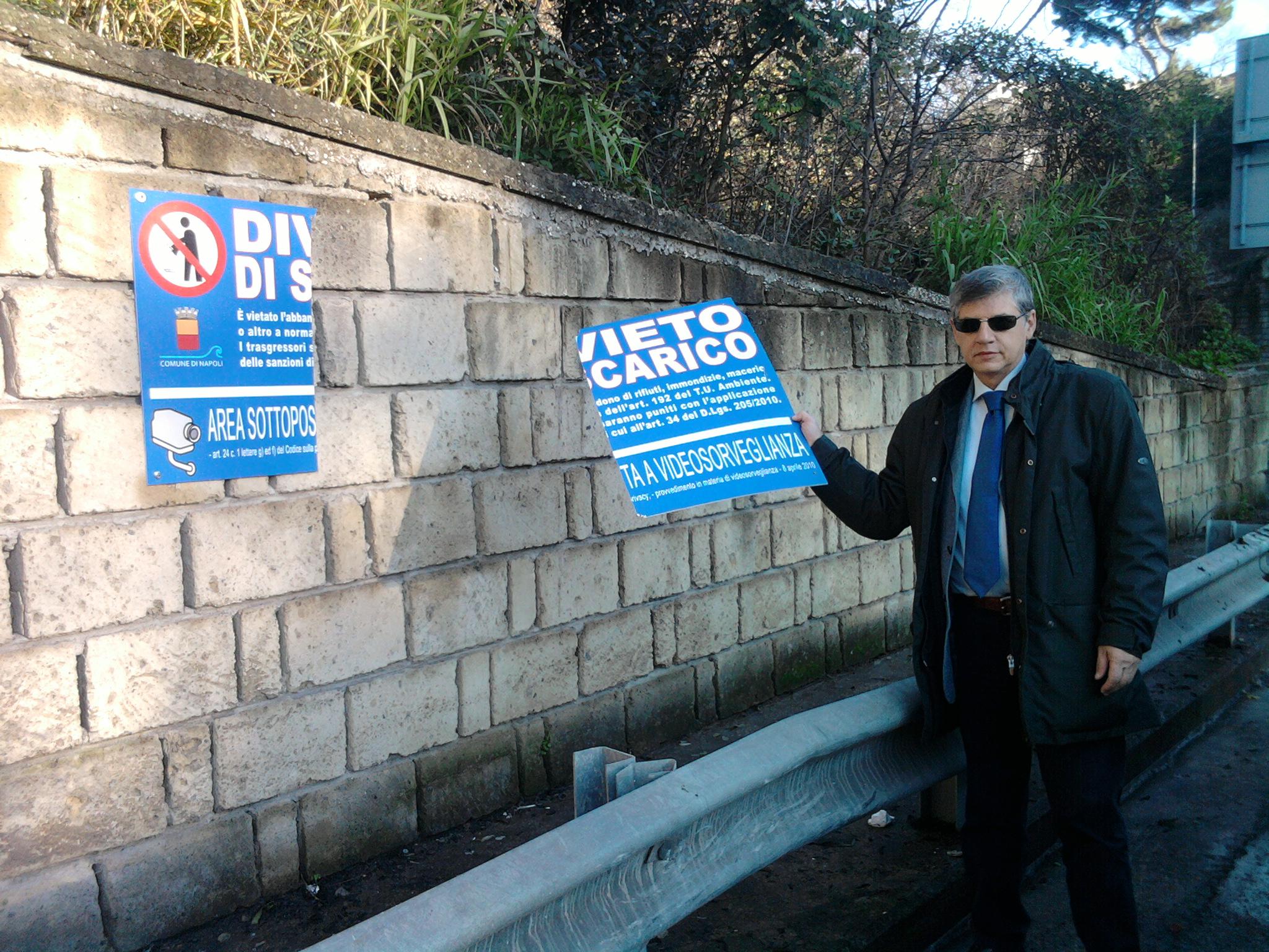 Atti intimidatori o vandalismo nei confronti dell'operato del Comune di Napoli?