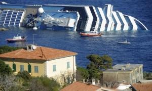 Affonda un nave da Crociera al largo dell'isola del Giglio