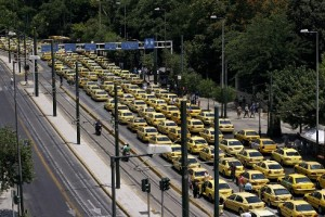 Sciopero nazionale dei Tassisti sulla liberalizzazione delle licenze