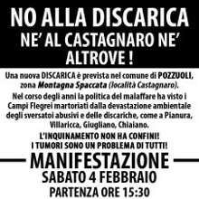 NO alla discarica in località Castagnaro: l'opinione dei manifestanti'