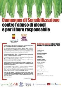 de Magistris e il suo impegno nella campagna Drink no Drunk