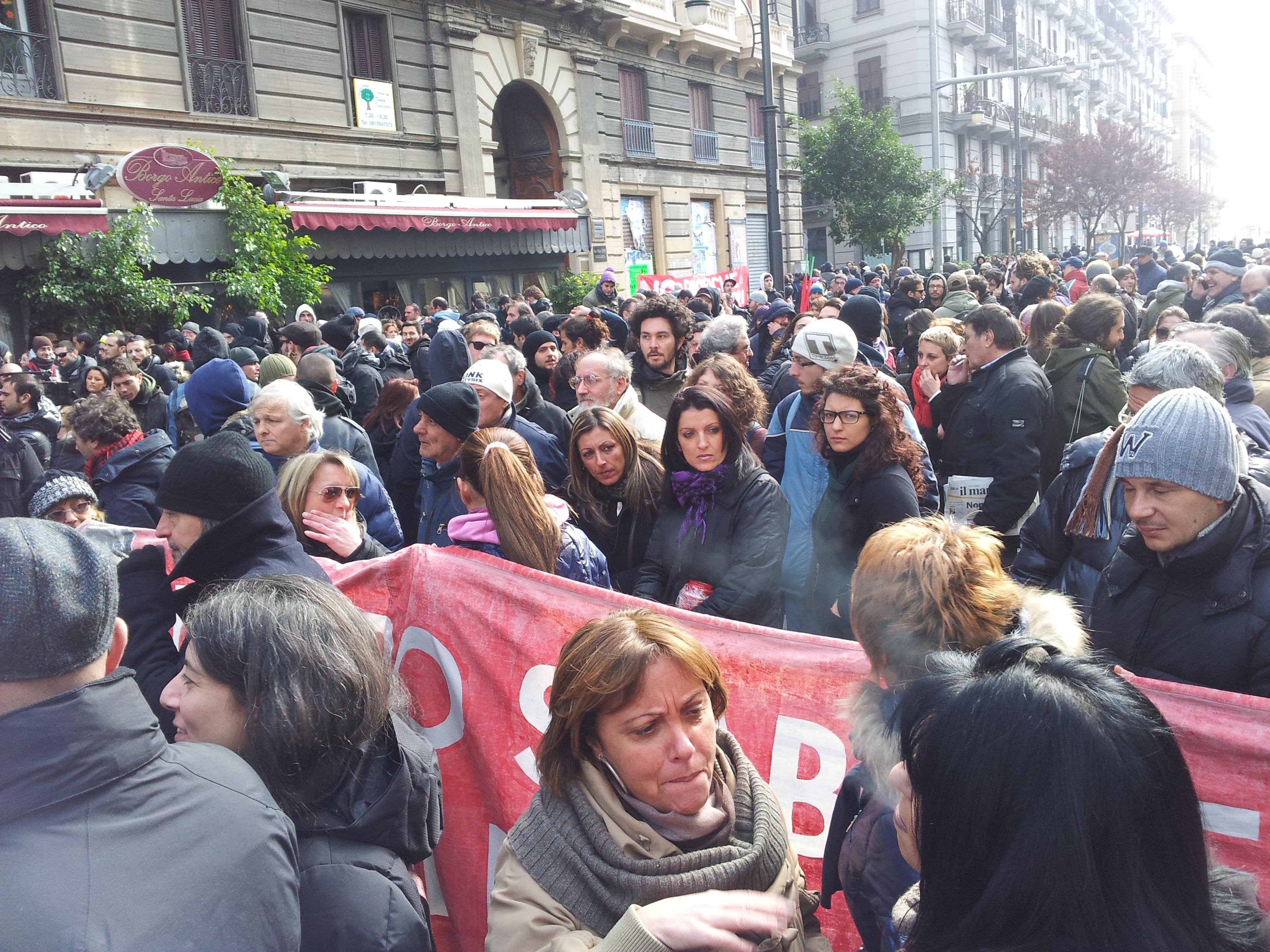 Intervista manifestante assedio Regione