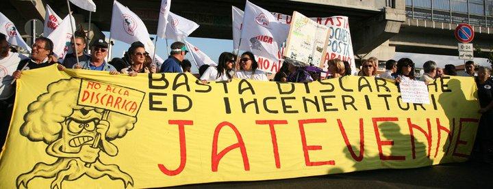 Manifestazione a Quarto per dire NO alla discarica in località Castagnaro: il percorso