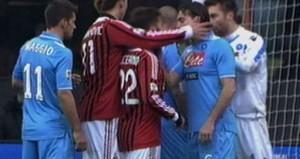 Video inedito espulsione di Ibrahimovic durante Napoli Milan e le sue conseguenze