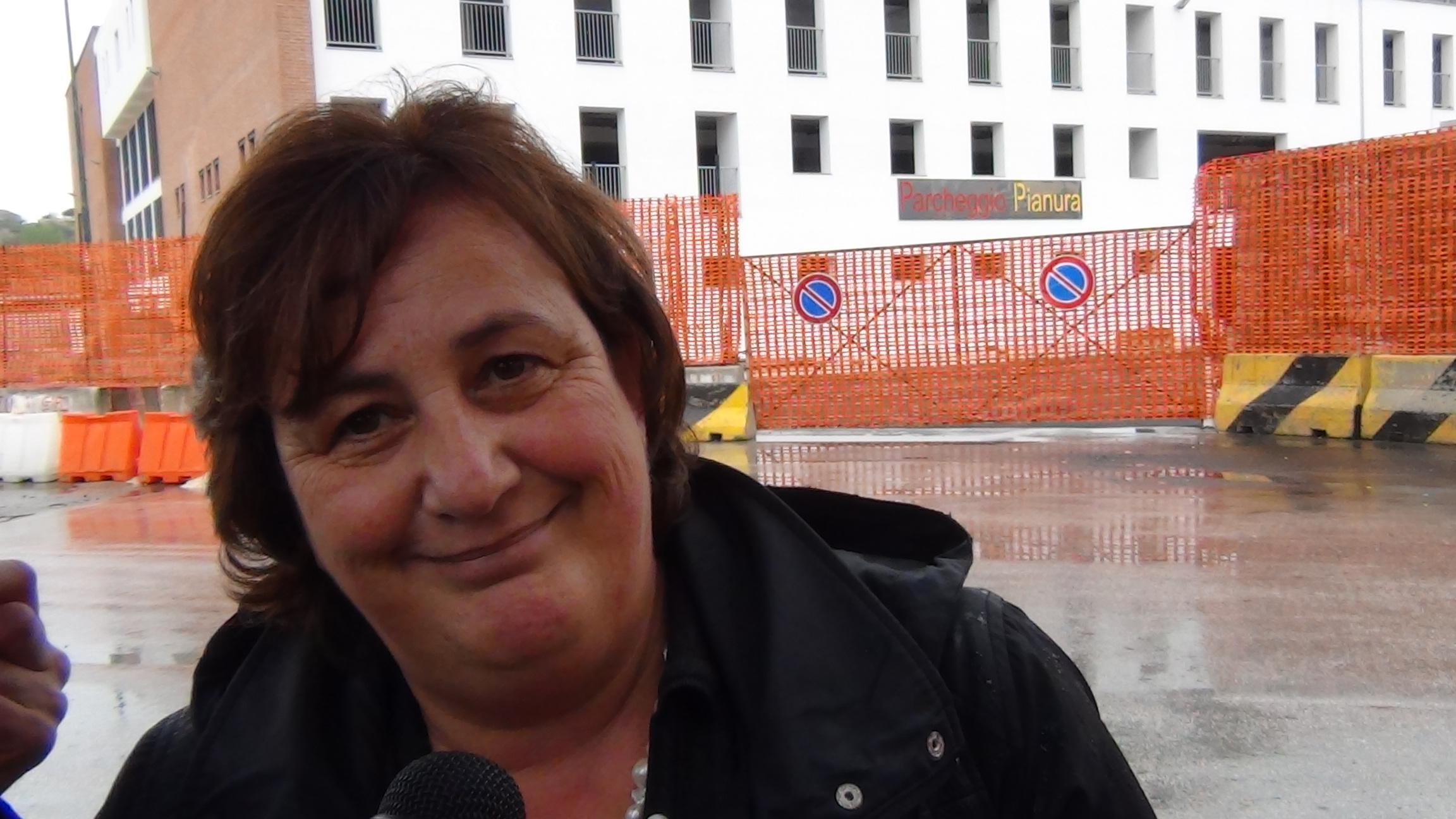 Assessore Pina Tommasielli a Pianura