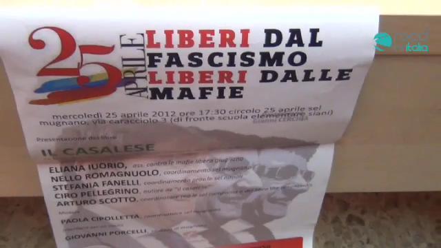 25 Aprile Liberi dal fascismo Liberi dalle mafie