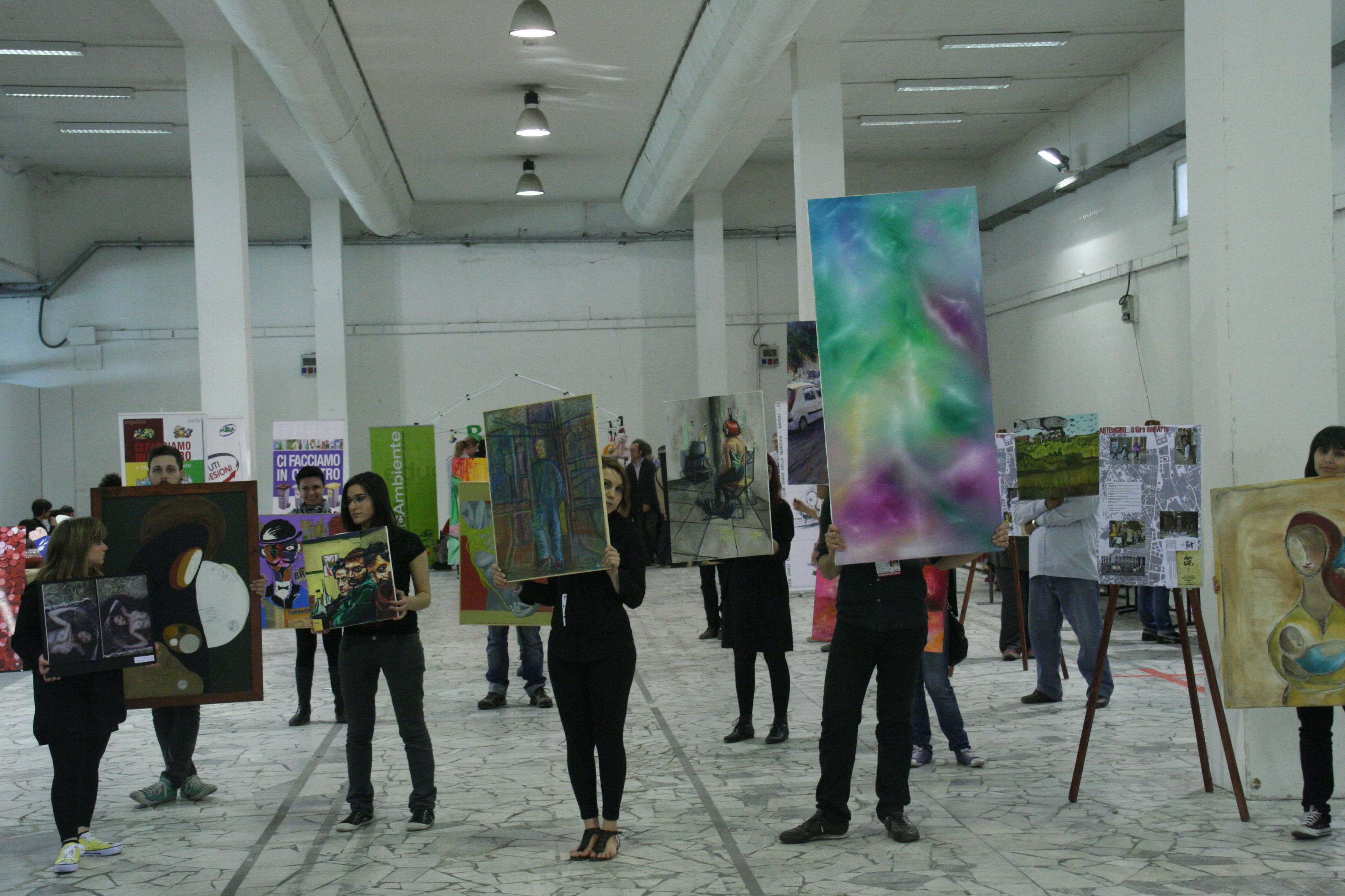 Arte in giro alla Fiera del baratto e dell'usato 2012