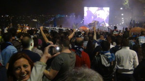 Coppa Italia; guarda il rigore di Cavani e la reazione dei tifosi per strada
