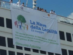Nave della legalità 2012