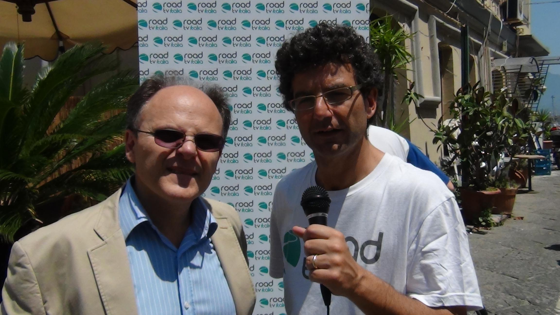 Lungomare liberato: Assessore Tuccillo e l'On. Siniscalchi ai microfoni di Road Tv Italia