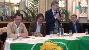 I verdi Ecologisti e Carmine Attanasio.