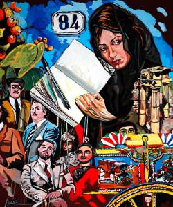 'Il pennello antimafia': intervista a Gaetano Porcasi