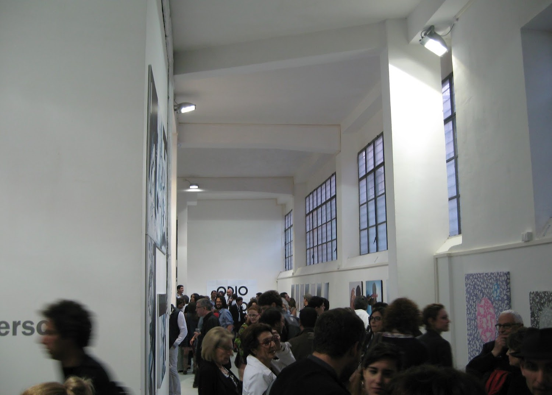 Gli artisti di Spazio Blanch alla mostra Underscore