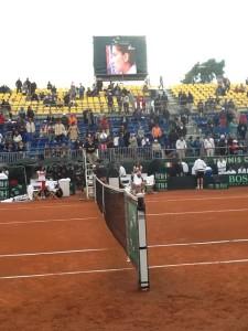 Davis Cup: Italia Cile commento di Carmelo Prestisimone e Ernesto Contrera