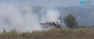 Terra di nessuno... bruciano 3000 ecoballe nell'inceneritore di Acerra