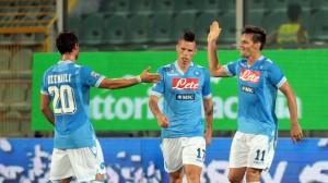 Napoli Parma 3-1: lo spettacolo dei tifosi azzurri