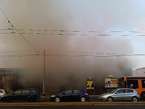 Napoli: incendio in Viale Maddalena