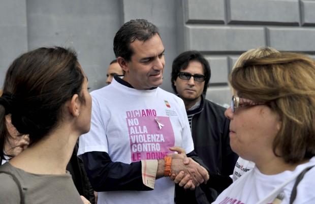 Napoli. Giornata mondiale contro la violenza sulle donne.