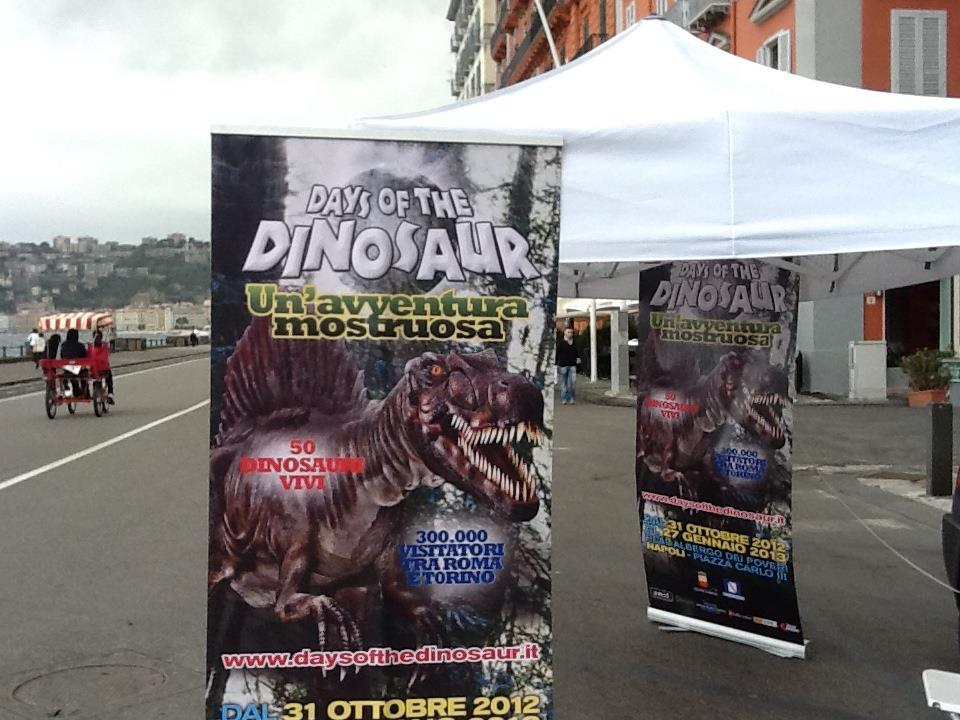 I dinosauri sono tornati, a Napoli all'Albergo dei Poveri fino al 27 gennaio