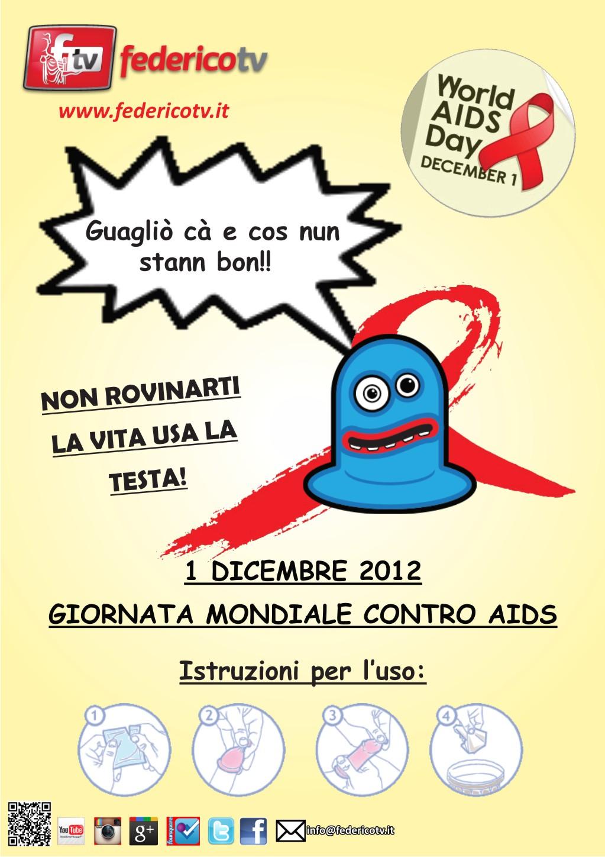 Road Tv Italia e federico Tv per la Giornata mondiale contro l'AIDS
