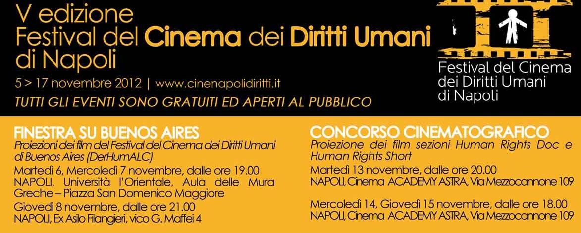5° Festival del cinema dei diritti umani a Napoli