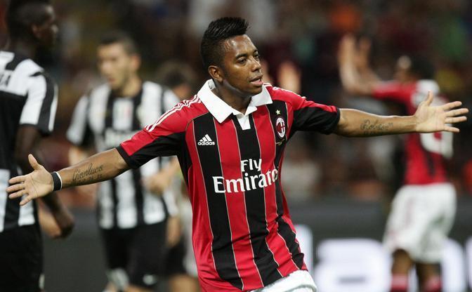 Un rigore di Robinho decide Milan-Juventus: 1-0 per i rossoneri a San Siro