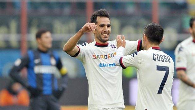 Illude Sau, rovina Astori: l'Inter agguanta il pareggio in extremis