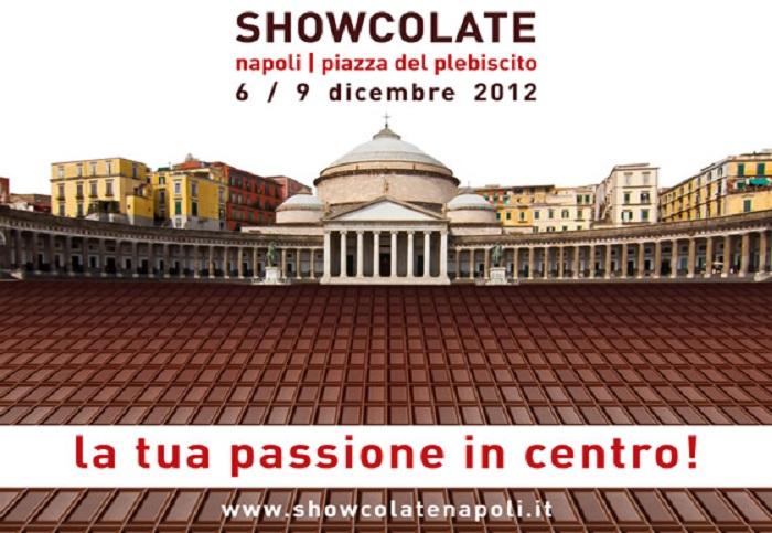 Showcolate 2012 : l'evento più dolce dell'anno a Piazza del Plebiscito