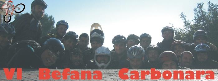 VI edizione della Befana Carbonara a Napoli con i Carbonari Bikers