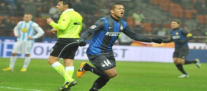 Inter-Pescara 2-0: Palacio e Guarin ridanno respiro alle ambizioni dell'Inter