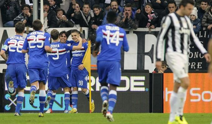 Incredibile a Torino: Juventus-Sampdoria 1-2, capolista battuta