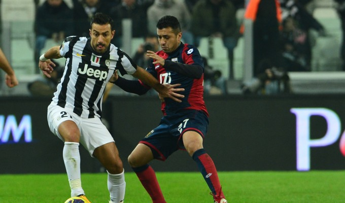 Capolista a corrente alternata: Juventus-Genoa 1-1
