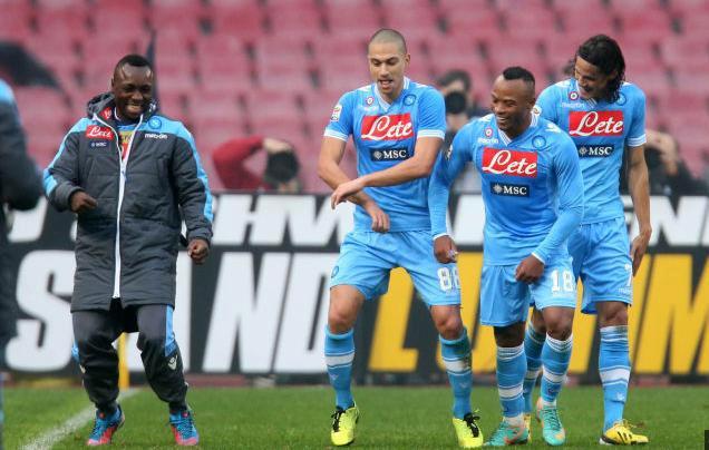 Napoli Palermo 3-0, tra balletti e sorrisi