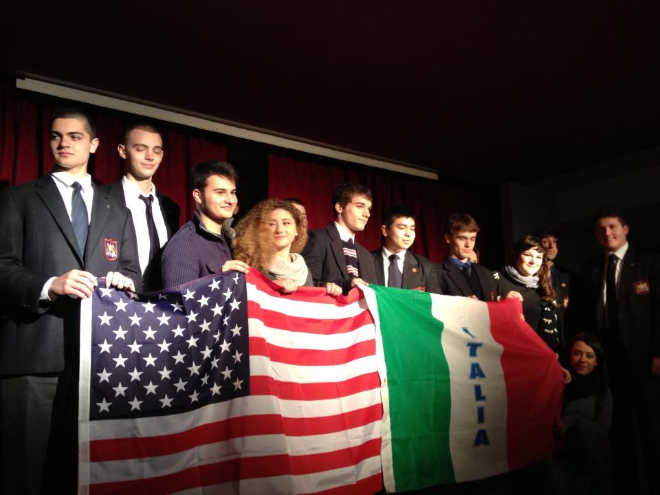 The Montfort Academy e Nicola Di Fiore all'Istituto Don Mauro di Villaricca (Na)