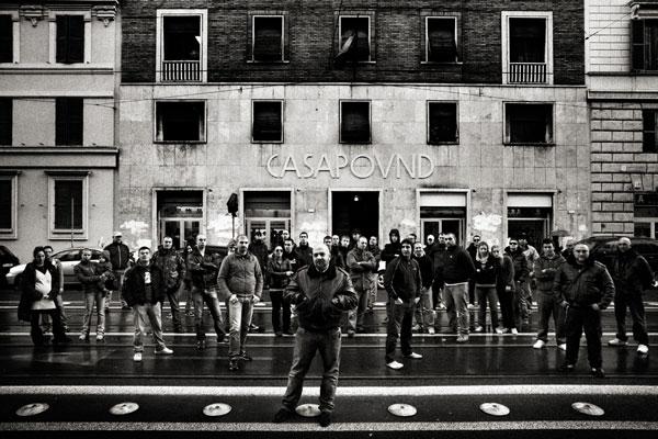 Intervista a Casapound, la loro posizione, i vostri commenti.