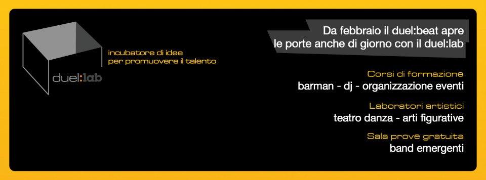 Duel:Lab Napoli. Sala prove, corsi di DJ e barman gratuiti