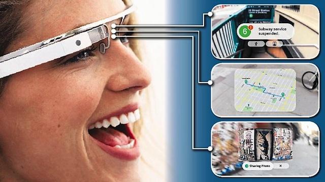 Google glasses, il futuro in batter d'occhio