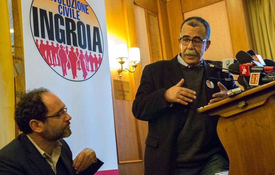"""Antonio Ingroia """"partigiano della Costituzione"""". Rivoluzione Civile a Napoli"""