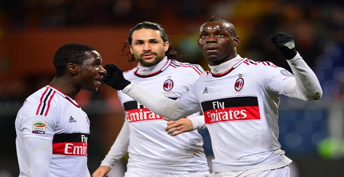 Pazzini e Balotelli: a Marassi vince il Milan. Genoa Ko 0-2